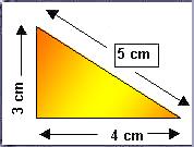 El area del:cuadrado,triangulo y del rectangulo.