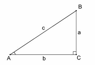 Rettvinklet trekant vinkel